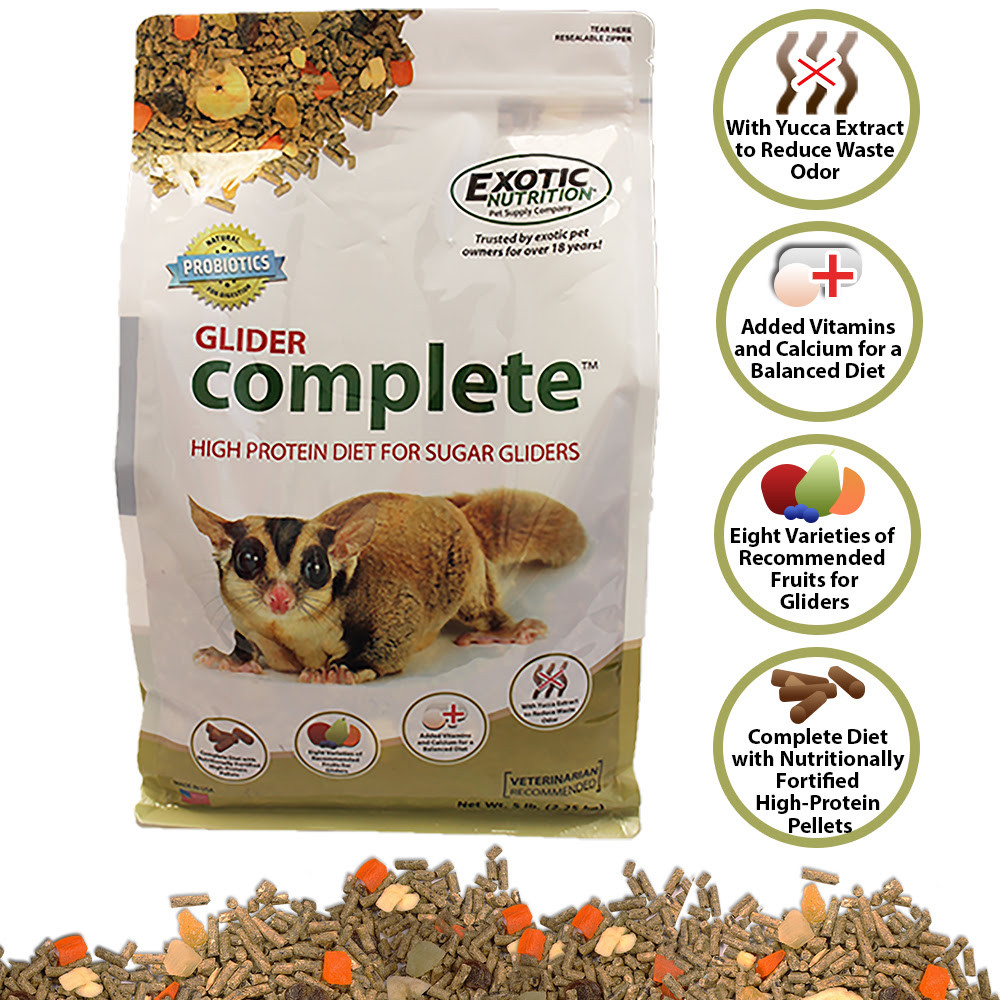 GLIDER COMPLETE PELLET by EXOTIC NUTRITION
