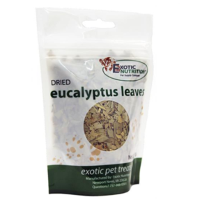 HOJAS DE EUCALIPTO PARA PETAUROS DEL AZUCAR EUCALYPTUS LEAVES FOR SUGAR GLIDERS DIET COMPLEMENT FOR SUGGIES DIETA