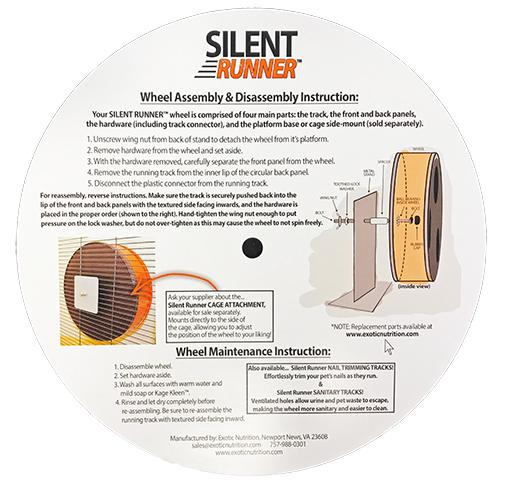 rueda ejercicio para petauros del azucar silent exotic nutrition sugar glider wheel enganche latera (1)