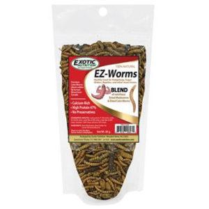 MIX INSECTOS EZ by Exotic Nutrition 80GR! El MEJOR INSECTO para los petauros del azucar Sugar Glider Insectos