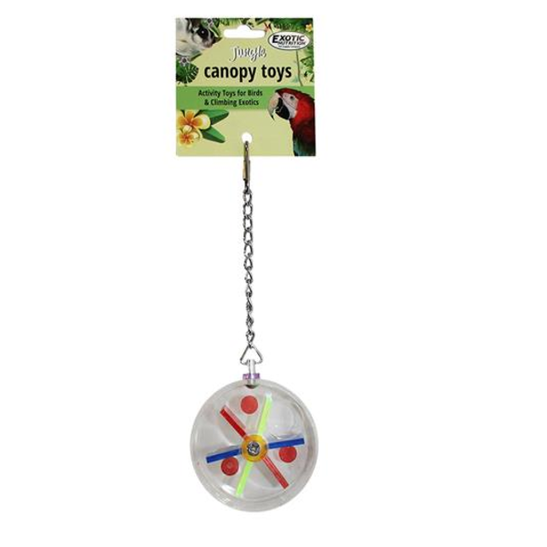 ACRYLIC FORAGE WHEEL COMEDERO PETAUROS DEL AZUCAR FORRAJEO FORAGING FOR SUGAR GLIDERS (1)