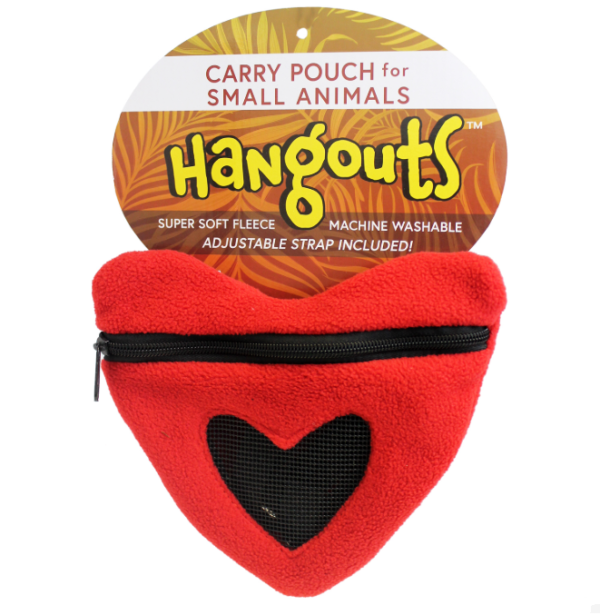 NIDO TRANSPORTIN CORAZON PETAURO DEL AZUCAR POUCH HEART FOR SUGAR GLIDER EXOTIC NUTRITION (1)